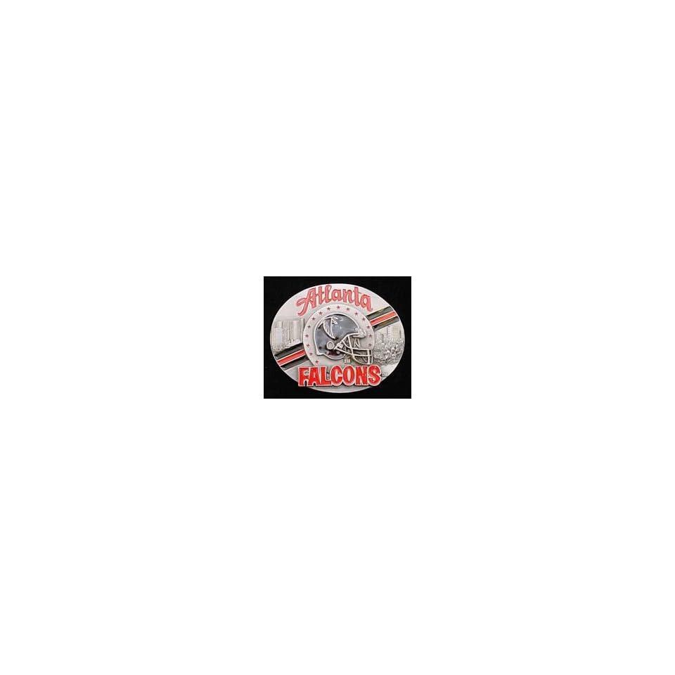 Atlanta Falcons Pewter Belt Buckle
