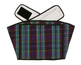 Hotties Soothing Backwrap Microwaveable Heat Wrap For The Relief Of Lower Back Pain - Heather Tartan