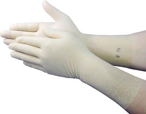 アンセル クリーンルーム用手袋ラテックスゴム製 ノーパウダー サイズ6.5 351876.5