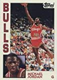 """Topps Michael Jordan Archives Basketball """"Rookie"""" Card In Protective Display Case"""