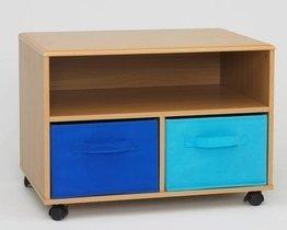 4D Concepts Boy'S Tv Cart, Beech front-25201