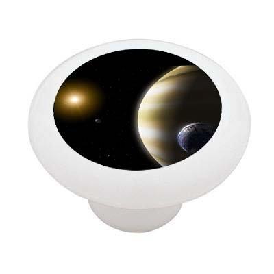 Extrasolar Planets Decorative High Gloss Ceramic Drawer Knob