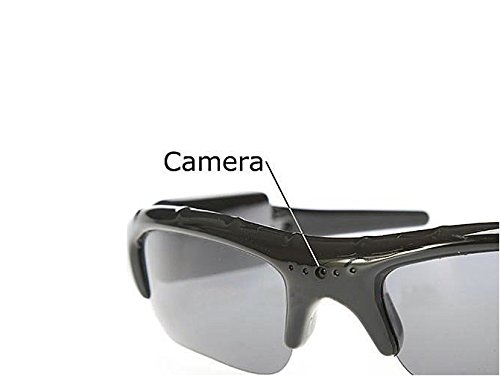 LanLan S9D Micro SD Sunglasses MP3 Player DVR Mini Camera Ca