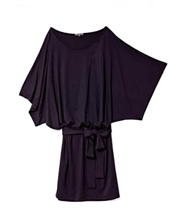 Jersey Dresses should make you feel as if you're covered with something soft and pliant. Not something tight and clingy that you have to tweak the whole time. So don't go for a smaller dress size in jersey. The dress should cover the bits you want to hide, not highlight them. Me – .