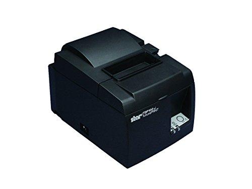 Star Micronics futurePRNT TSP143IIILAN GY US Direct Thermal Printer - Monochrome - Desktop - Receipt Print