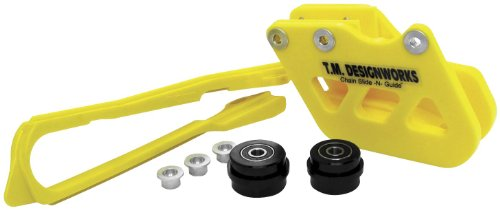 T.M. Designworks Factory Edition 2 Rear Chain Guide - Yellow Rcg-Sy2-Yl