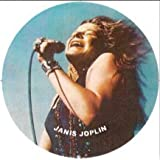Janis Joplin on the Mic Keychain