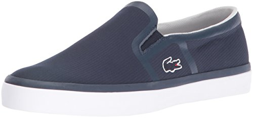 Lacoste Women's Gazon 416 2 Spw Fashion Sneaker, Navy, 7.5 M US