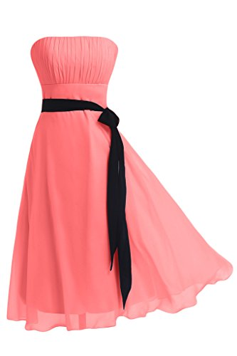Try now with Gorgeous Bridal Elegant Strapless Bridesmaid