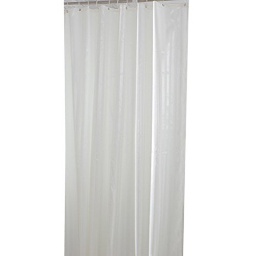 High Grade Polyester Waterproof Mouldproof White Stripes Shower Curtains,72x80in(180x200cm) (80 Inch Shower Curtain Liner compare prices)