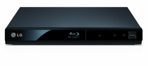 LG BP125 2D Slim Blu-ray Player - Black