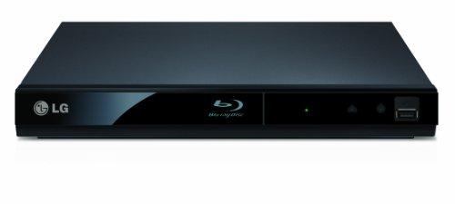 LG BP125 2D Slim Blu-ray Player - Black