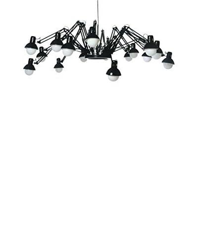 Lo+deModa Lámpara De Araña Multi Arms Negro