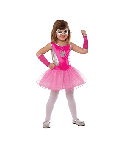 Marvel Pink Spidergirl Spider Girl Girls Tutu Dress Halloween Costume