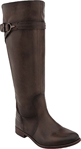Earth Women's Woodstock Knee High Boot,Taupe Tumbled Leather,US 10 M
