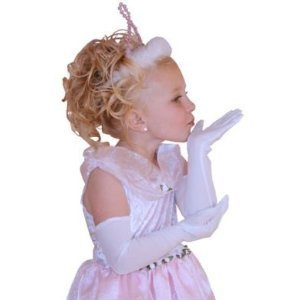 Little Adventures Child White Princess Gloves Ages 3+
