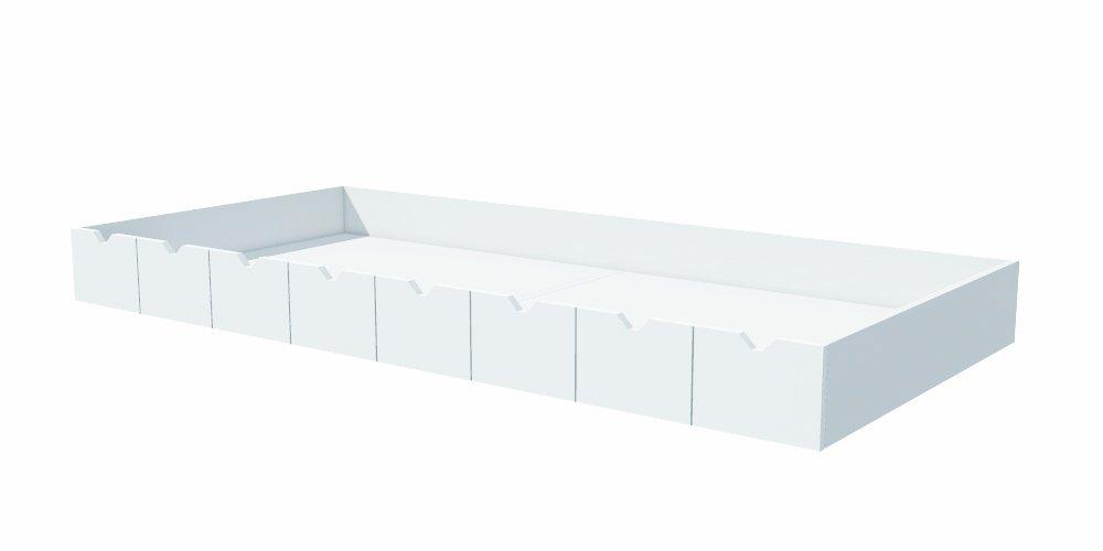 Noukies F1320.22 Mont Blanc Schublade für Bett, 90 x 200 cm