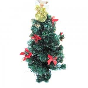 90Cm Fiber Optic Christmas Tree With Angel