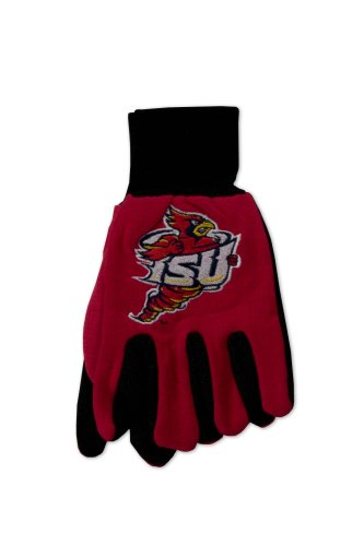 Hot Iowa State Two-Tone Gloves