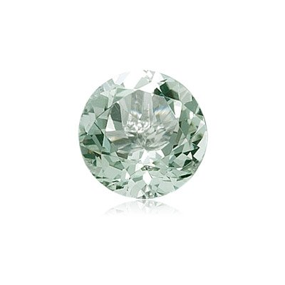 1.10-1.29 Cts of 7 mm AA Round Green Amethyst