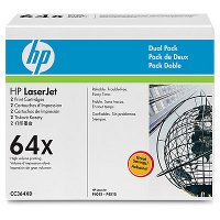 HP 64X Dual-Pack Toner Cartridge (CC364XD) -
