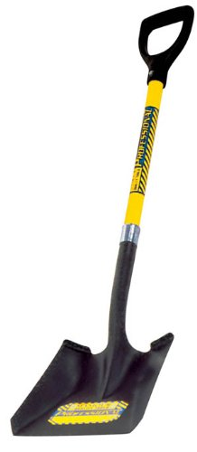 Seymour SV-DS43 28-Inch Fiberglass D-Grip Handle Professional Square Point Shovel