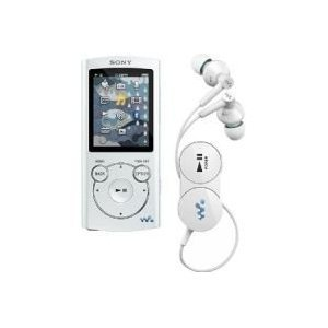 Sony NWZS764WHI 8GB S Series MP3 Player White with Bluetooth Wireless Headphones