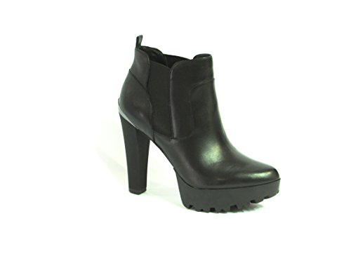 Scarpe Tronchetti Donna Guess Mod. Clay Shootie Leather FL6CLYLEA09 Col. Nero (38).