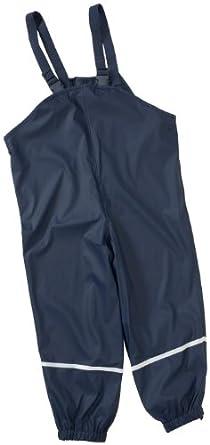 Playshoes Regenlatzhose 405424 Unisex - Kinder Hosen/ Lang, Gr. 74 Blau (marine 11)