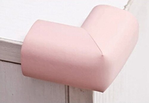 Interbusiness 10 Pack/Lot Baby Child Infant Kids Safety Safe Table Desk Corner Bumps Cushion Guards Foam Protector (Pink)