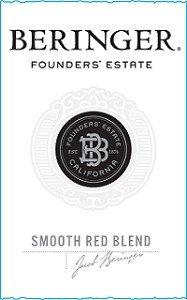 Beringer Vineyards Smooth Red Founders' Estate 2010 750Ml