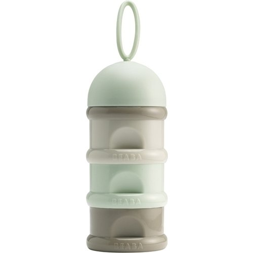 Beaba Stackable Snack And Milk Formula Container - Pastel Pink