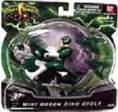 Power Rangers Mighty Morphin Mini Green Dino Cycle - 1