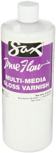 Sax True Flow Multi-Media Varnish Gloss - 1Quart front-1076273