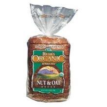 Rudis Organic Nut And Oat Bread, 22 Ounce -- 8 Per Case.