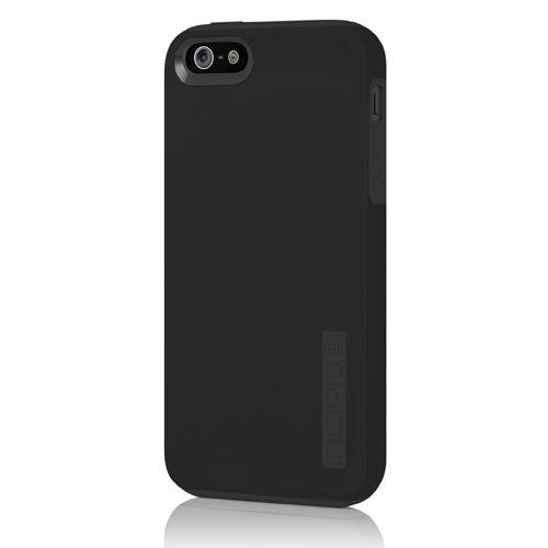 iPhone 5s Case, Incipio DualPro Protective [Shock Absorbing] Cover fits Apple iPhone 5, iPhone 5s, iPhone SE - Black (Iphone 5s Protective Black Case compare prices)