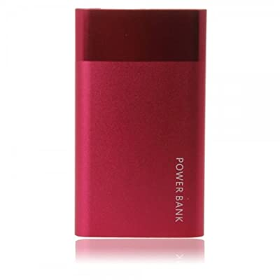 MarZey Red 8000mAH Portable Universal Mobile Power Bank Charger for Samsung GT-S7273T By Things Needed Coupon 2015