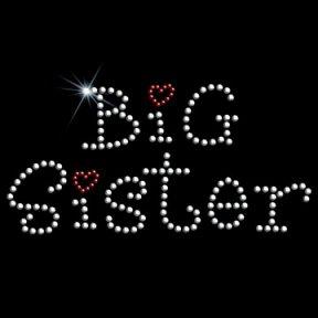 Toddler Gildan T-Shirt : Big Sister - Sibling Embellished Rhinestone Design - Buy Toddler Gildan T-Shirt : Big Sister - Sibling Embellished Rhinestone Design - Purchase Toddler Gildan T-Shirt : Big Sister - Sibling Embellished Rhinestone Design (Gildan, Gildan Apparel, Gildan Toddler Boys Apparel, Apparel, Departments, Kids & Baby, Infants & Toddlers, Boys, Shirts & Body Suits, T-Shirts & Tank Tops)