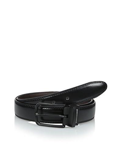 Steve Madden Men's Double Stitch Belt