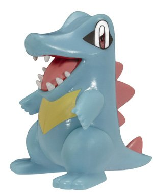 Buy Low Price Jakks Pacific Pokemon HeartGold SoulSilver Series 15 Basic Figure Totodile (B003RD89ZA)