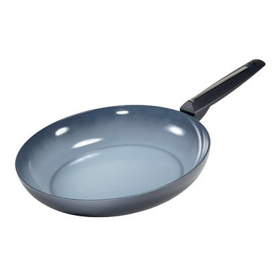 "Moneta Azul Gres Fry Pan, 13"", Gray"