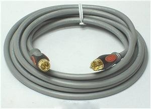 Monster 12 Feet/3.6 M Thx 400 Subwoofer Audio Cable