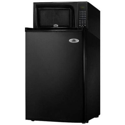 Summit 18.5-Inch 2.5 Cu. Ft. Microwave-Refrigerator Combo - Black (Summit Microwave compare prices)