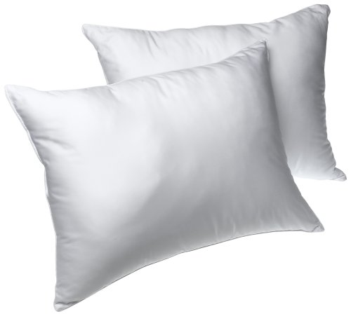 Louisville Bedding Bridal Beginnings 400-Thread-Count Cotton Set of 2 Queen Bed Pillows