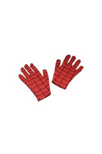 Boys Kids Childrens Marvel Spider-Man Child Gloves Disguise Costume Accessory Toy One Size, As Shown By Fenvy