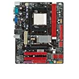Biostar AMD Motherboard N68S+, Socket AM2/AM2+, Cpu Support Up To 95W, 2 X DDR2, Micro ATX