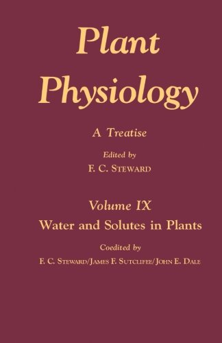 Plant Physiology V9: A Treatise