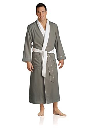 Luxury Spa Robe - Microfiber with Cotton Terry Lining, Sandstone, X-Small
