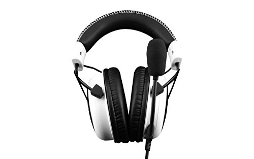 Kingston Technology Hyperx Cloud Gaming Headset, White (Khx-H3Clw)