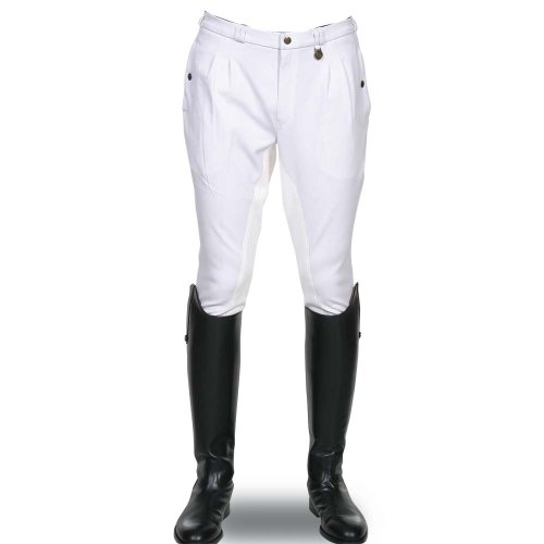 Derby House Gents Pinawa Breeches (36, White)